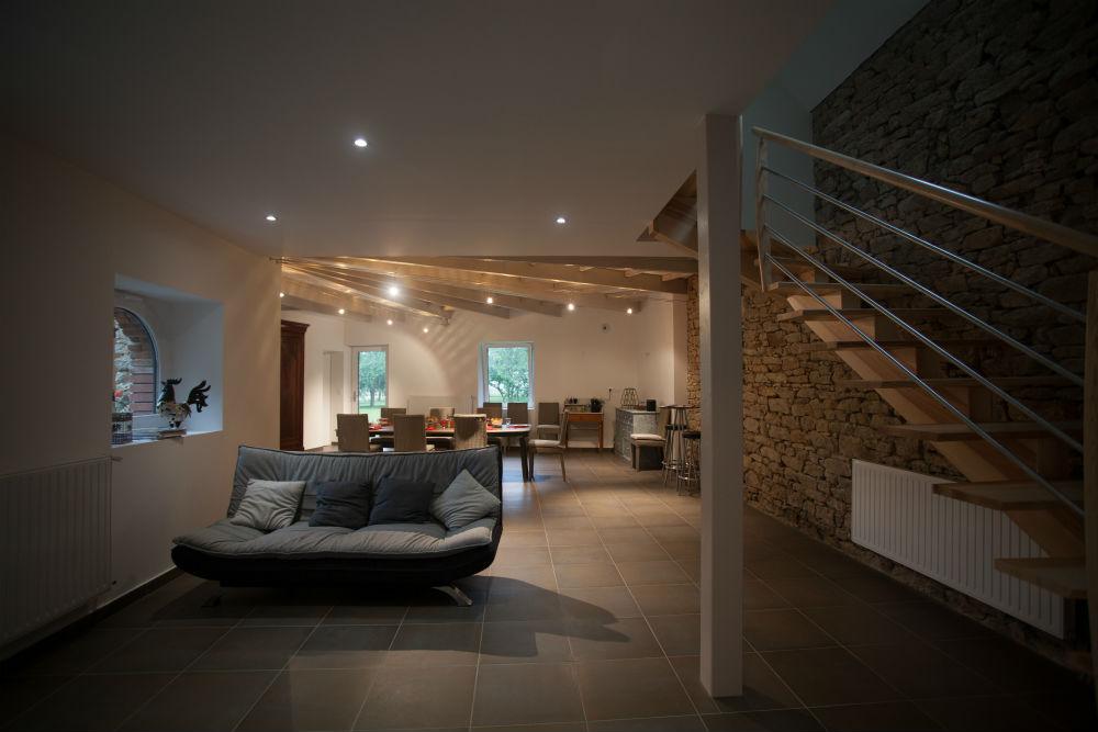 www.legrandcondest.fr/Fabrication escalier maison d'hôte Nivillac 56 Morbihan